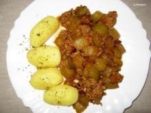 Putenhack/Landgurken-Schmortopf - Rezept