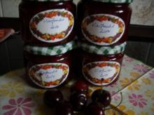 Konfitüre & Co: Vierfruchtmarmelade 2014 - Rezept