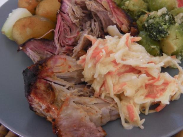 """""""Pulled Pork"""" Southern style - Rezept - Bild Nr. 9"""