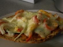 Überbackene Gemüse-Schiffchen - Rezept