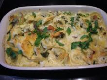 Pasta: Tortellini überbacken - Rezept