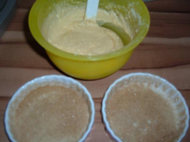 Kuchen : Birnentarte umgedreht in klein - Rezept - Bild Nr. 4