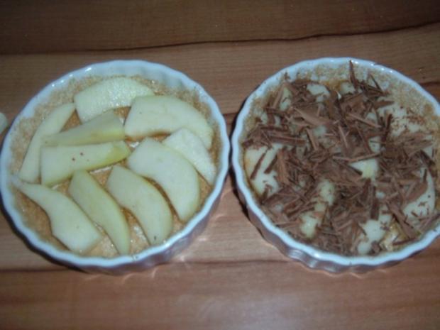 Kuchen : Birnentarte umgedreht in klein - Rezept - Bild Nr. 5