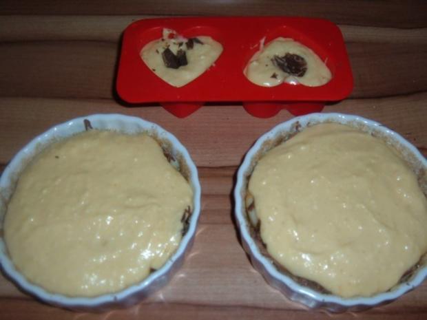 Kuchen : Birnentarte umgedreht in klein - Rezept - Bild Nr. 6