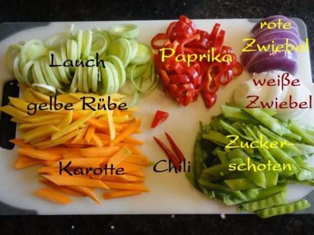 Wokgemüse mit mariniertem Chili-Tofu - Rezept - Bild Nr. 5