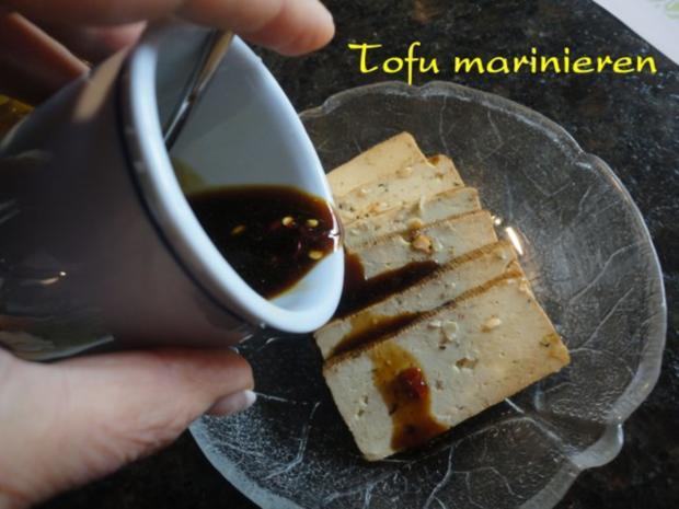 Wokgemüse mit mariniertem Chili-Tofu - Rezept - Bild Nr. 3