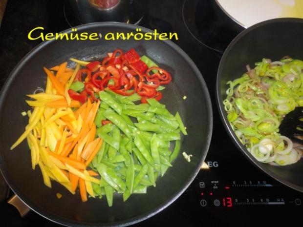 Wokgemüse mit mariniertem Chili-Tofu - Rezept - Bild Nr. 7
