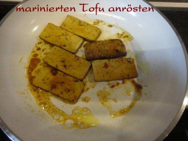 Wokgemüse mit mariniertem Chili-Tofu - Rezept - Bild Nr. 12