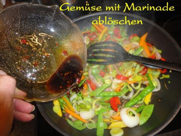 Wokgemüse mit mariniertem Chili-Tofu - Rezept - Bild Nr. 8