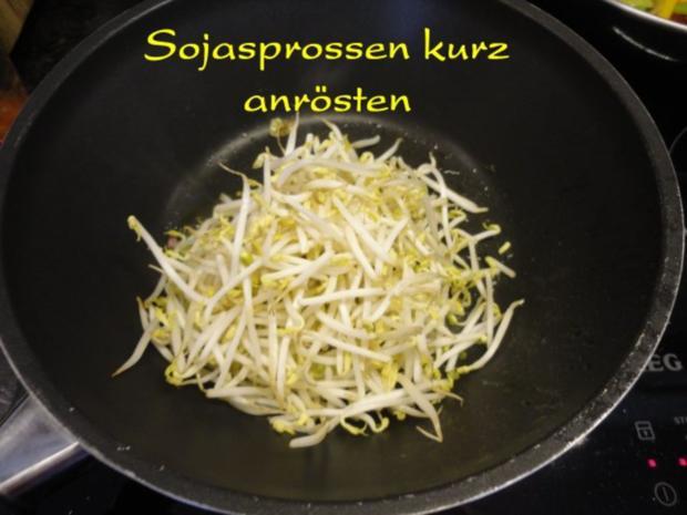 Wokgemüse mit mariniertem Chili-Tofu - Rezept - Bild Nr. 9
