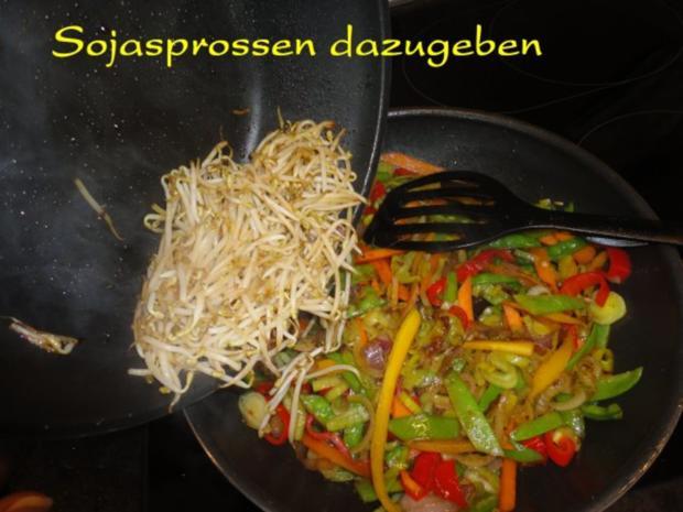 Wokgemüse mit mariniertem Chili-Tofu - Rezept - Bild Nr. 11