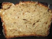 Birnen Haferflocken Brot - Rezept
