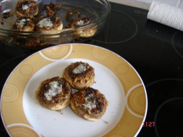 Fingerfood - Gebackene Champignons - Rezept