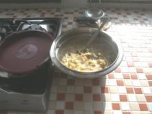 Porree in Käserahm-Sauce - Rezept