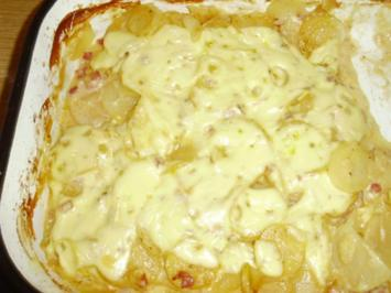 Kartoffelgratin 1887 mit Schnitzel - Rezept