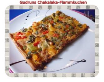 Flammkuchen: Chakalaka-Flammkuchen - Rezept