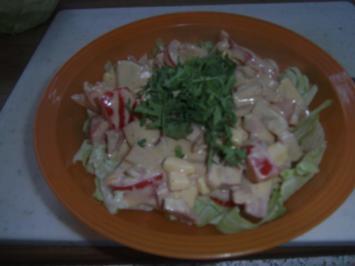 Wurst-Käse-Salat (Schweizer Art) - Rezept