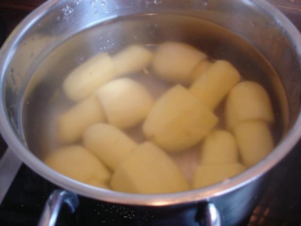 Chilli con carne à la Papa mit Kartoffelpilzen - Rezept - Bild Nr. 15