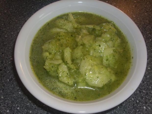 Einfacher Gurkensalat - Rezept
