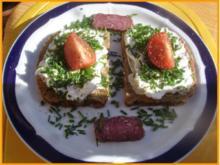 Schnittlauch-Quark-Brot - Rezept