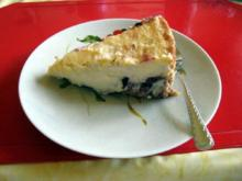 Mascarpone - Torte mit roter Grütze - Rezept