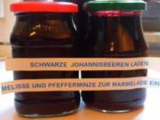 Marmelade in schwarz - Rezept