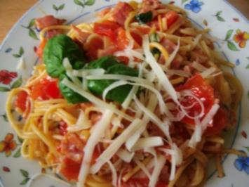 Rezept: Spaghettipfanne