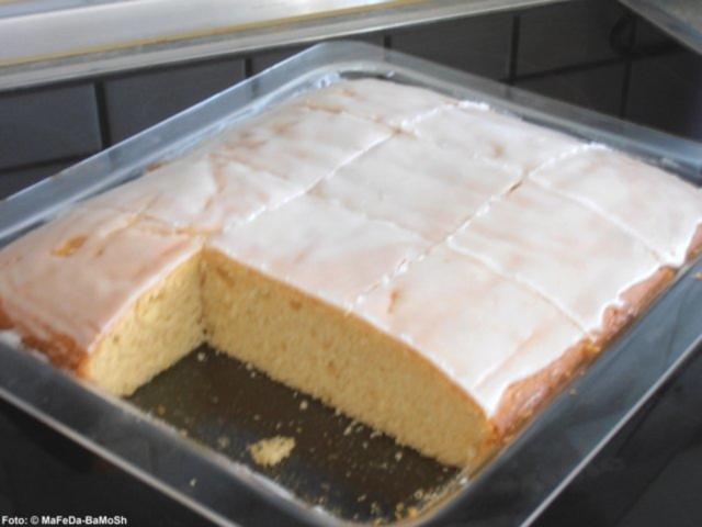 Zitronenkuchen Vom Blech Rezept Mit Bild Kochbar De