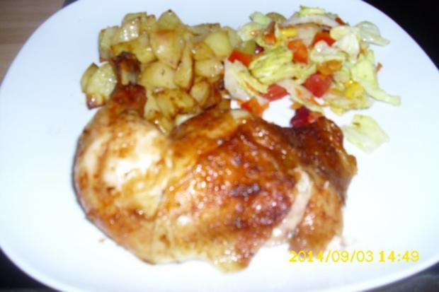 Hähnchen gebacken - Rezept