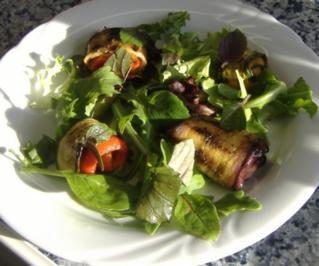 Wildkräuter-Antipasti-Salat - Rezept