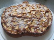 Backen: Zweifarbiger Apfelkuchen - Rezept