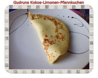 Kuchen: Kokos-Limonenpfannkuchen - Rezept