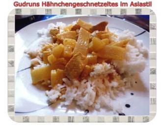 Geflügel: Hähnchengeschnetzeltes im Asiastil - Rezept