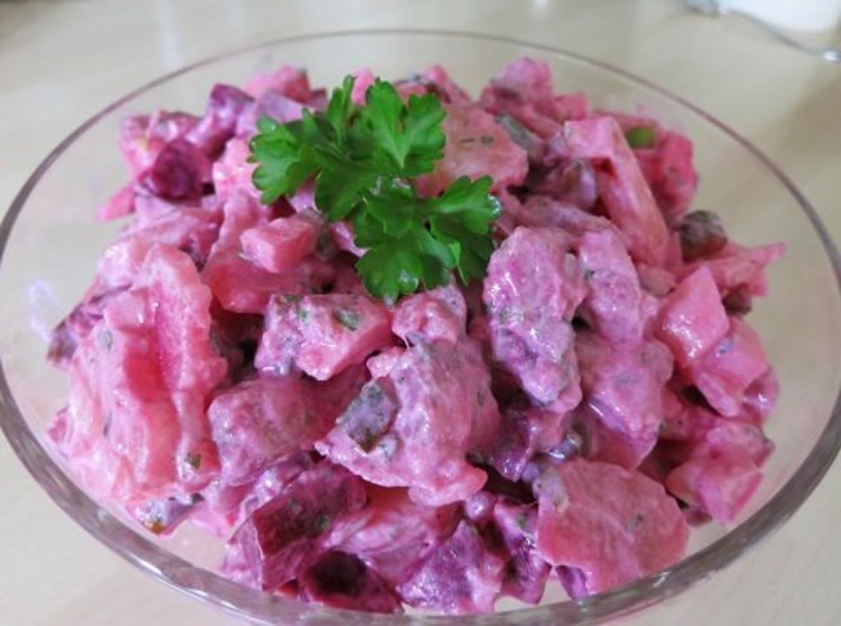 Roter Matjes-Kartoffelsalat - Rezept Gesendet von Waldbeere