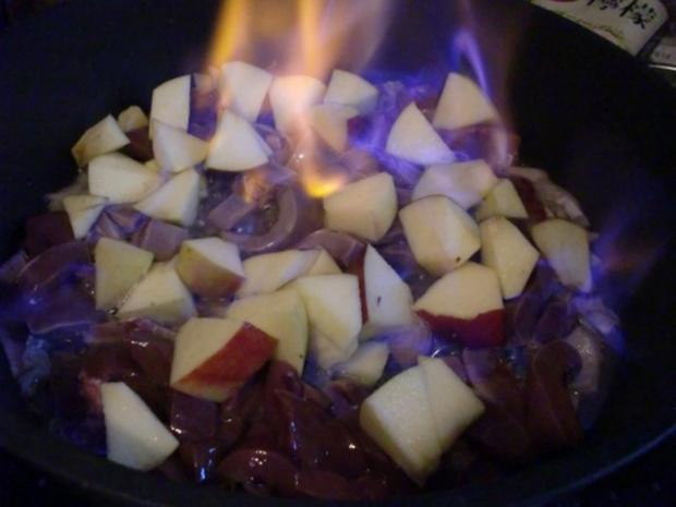 Schweine - Nieren mit Apfel und Calvados - Rezept - Bild Nr. 4