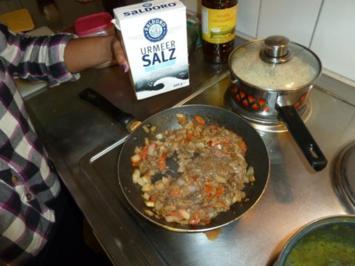 gegrillte Aubergine mit indischem Touch - Rezept