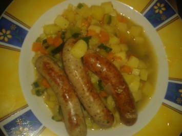 Kartoffel - Gemüse Pfanne - Rezept