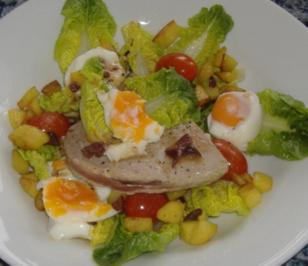 Salade Nicoise mit frischem Thunfischsteak - Rezept