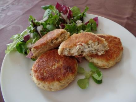 Frischkäse-Taler - Rezept
