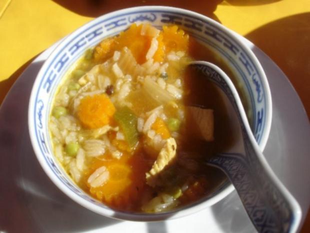 Asiatischer Hähnchenbrustfilet-Eintopf - Rezept