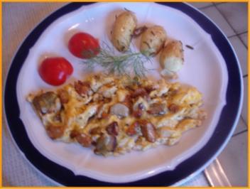 Rezept: Eierpilz-Omelett