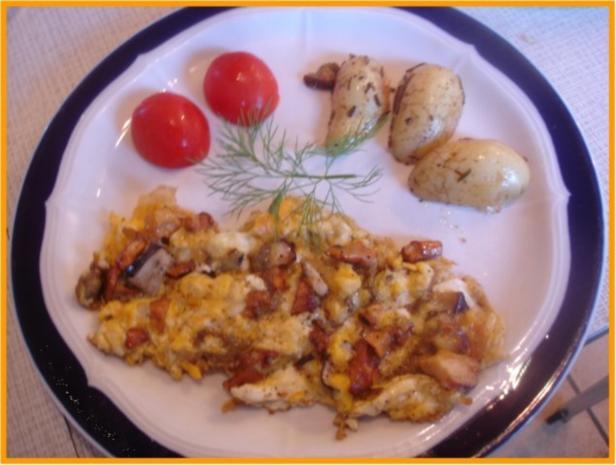 Eierpilz-Omelett - Rezept - Bild Nr. 3
