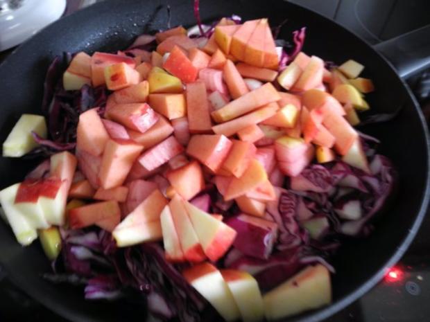 Beilage : Apfel - Holunder - Rotkraut - Rezept - Bild Nr. 6