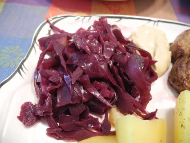 Beilage : Apfel - Holunder - Rotkraut - Rezept - Bild Nr. 9
