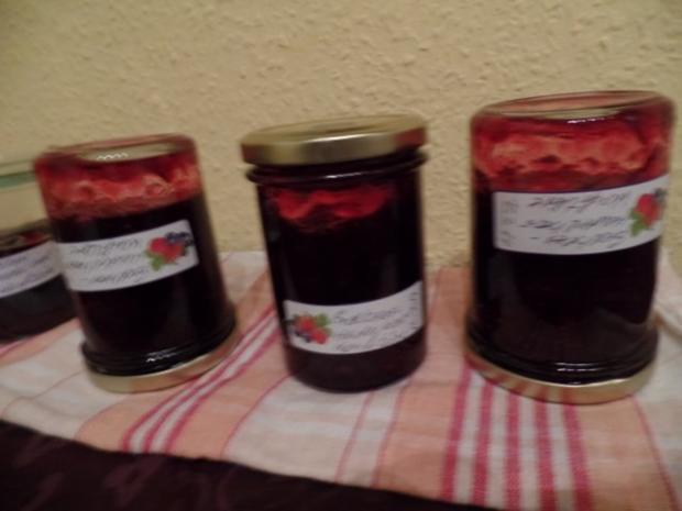 Erdbeer-Heidelbeer -Konfitüre - Rezept - Bild Nr. 2