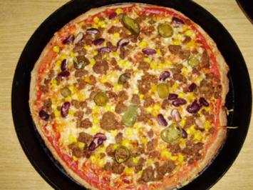 Pizza-Battle - Rezept