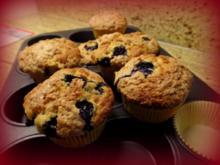 Blaubeermuffins mit Zimtstreusel - Rezept