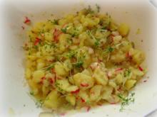 Kartoffel-Radieschen-Salat mit Kresse - Rezept