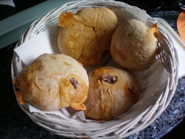 Brot: Partybrot oder Brötchen - Rezept