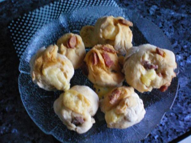 Brot: Partybrot oder Brötchen - Rezept - Bild Nr. 2